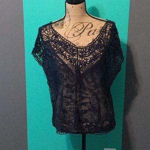 Crochet & Lace Boho Top